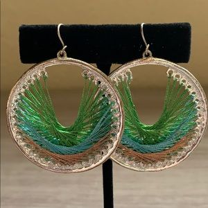 🎉SALE!!! Beautiful hoop earrings!